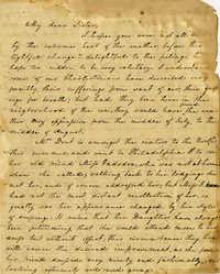 Letter from Charlotte Manigault to Henrietta Drayton, 1834