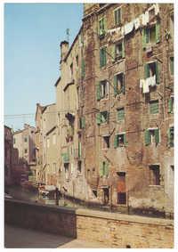 Venezia. Ghetto Nuovo: Esterno.