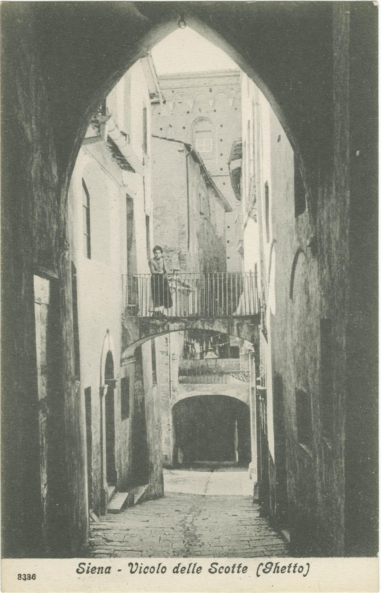 Siena - Vicolo delle Scotte (Ghetto)