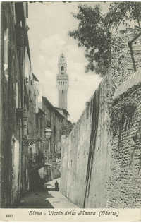 Siena - Vicolo della Manna (Ghetto)