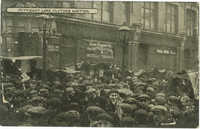 Petticoat Lane clothes auction