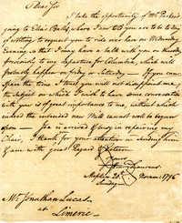 Correspondence 1