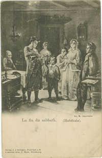 La fin du sabbath. (Habthala).