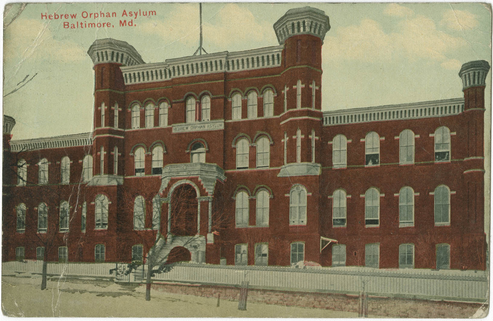 Hebrew Orphan Asylum, Baltimore, Md.