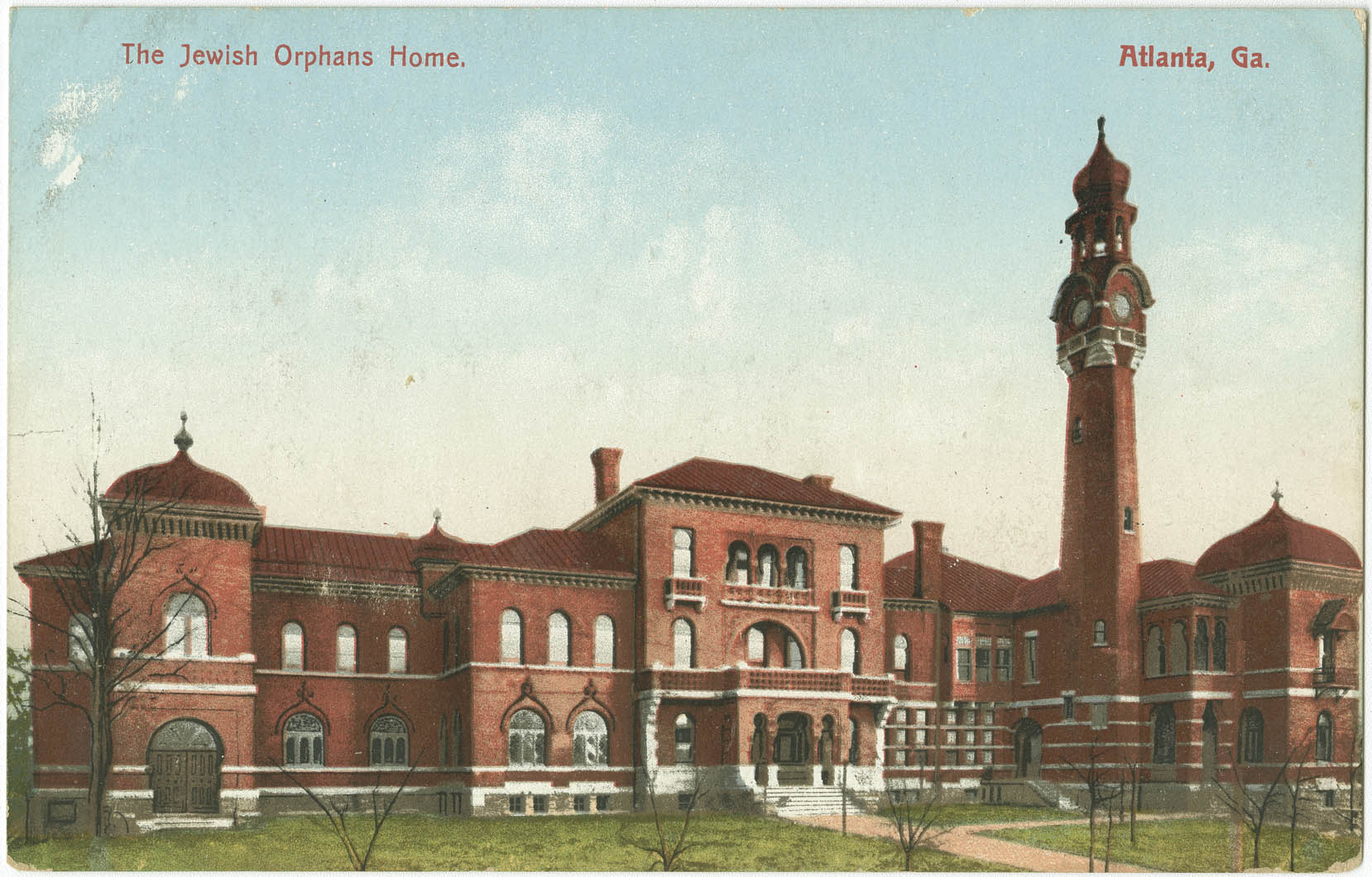The Jewish Orphans Home. Atlanta, Ga.