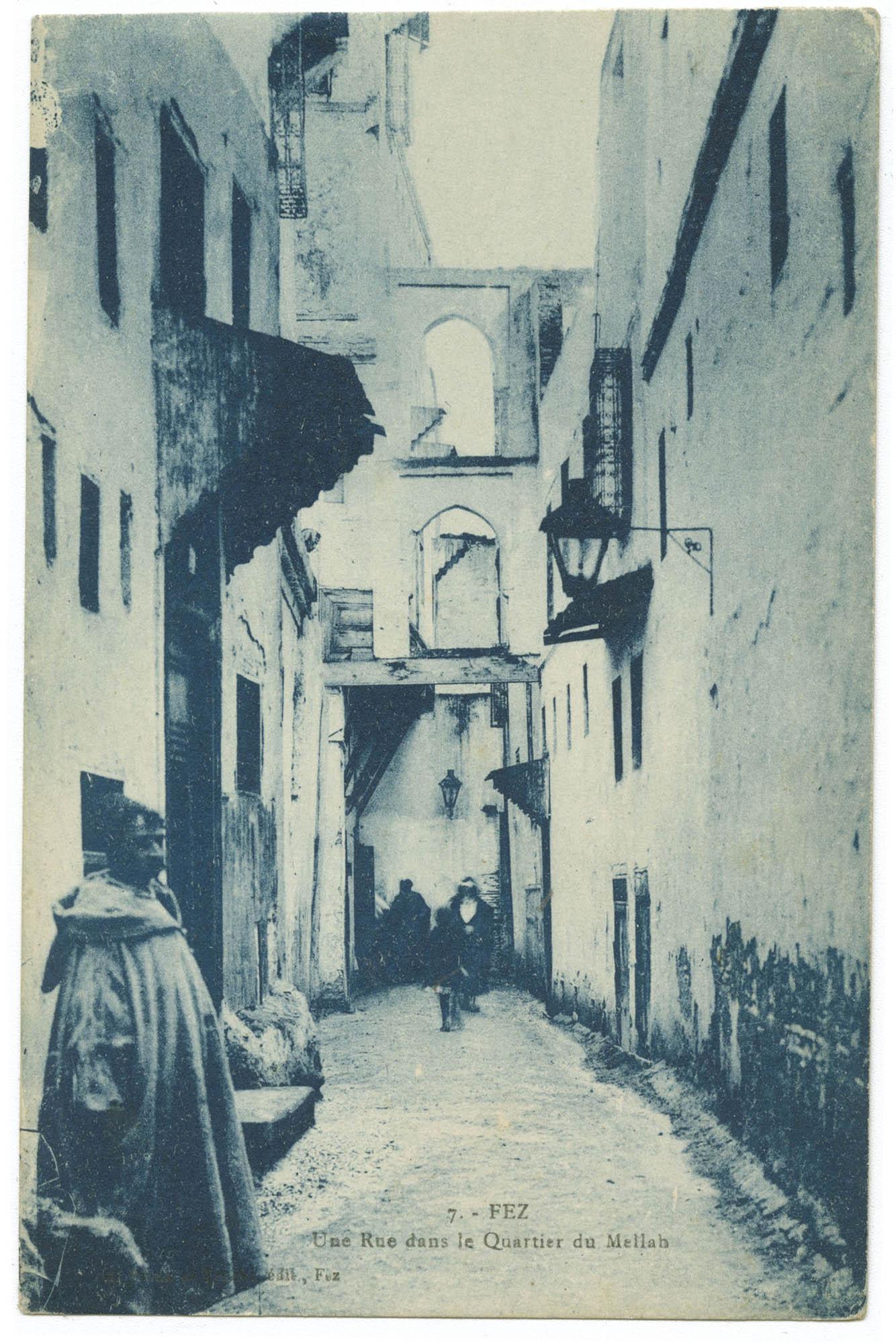FEZ, Une Rue dans le Quartier du Mellah