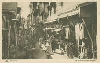FÈS, La Grande rue du Mellah