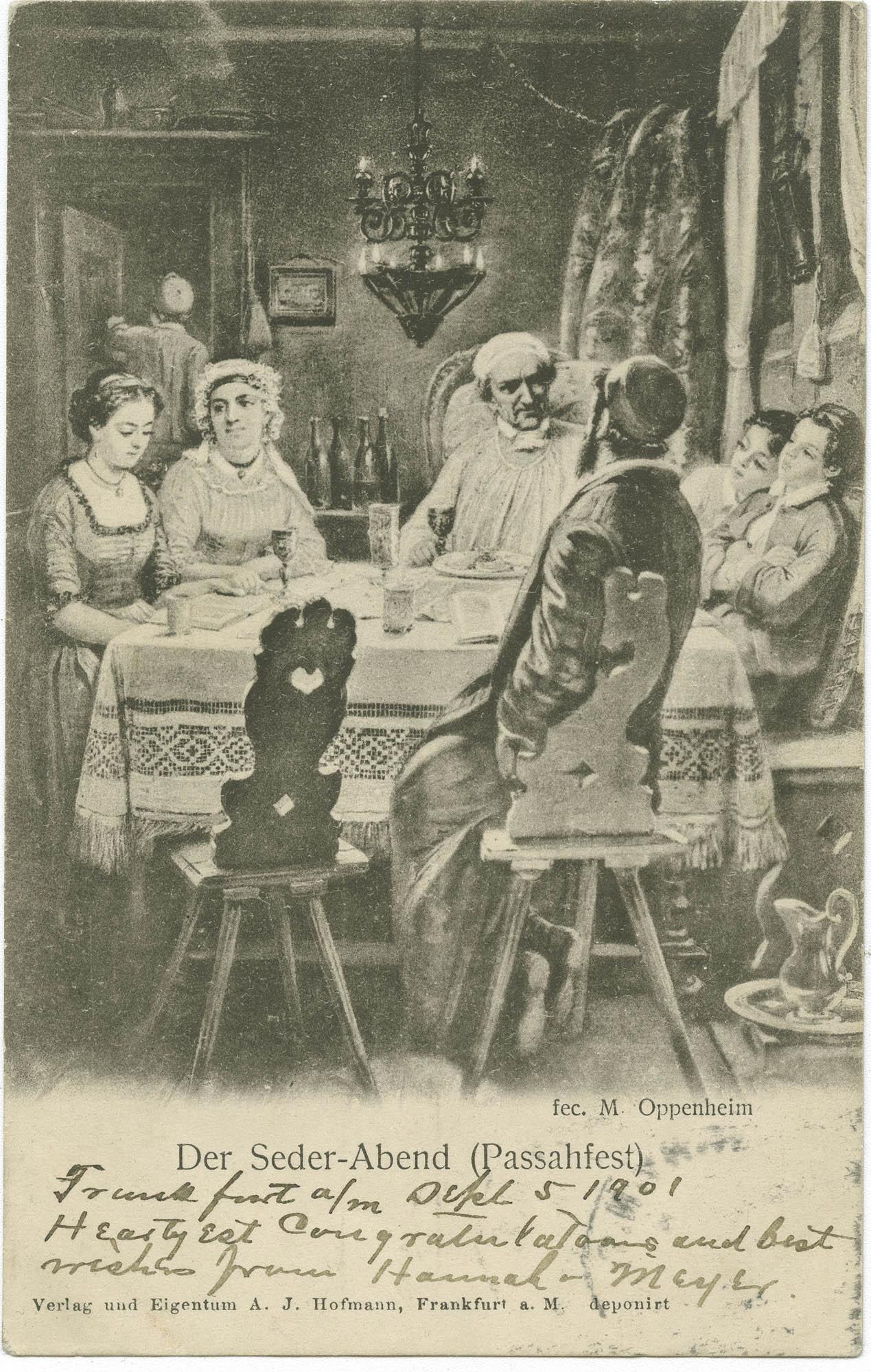 Der Seder-Abend (Passahfest)