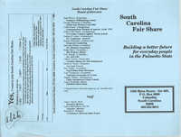 South Carolina Fair Share Pamphlet