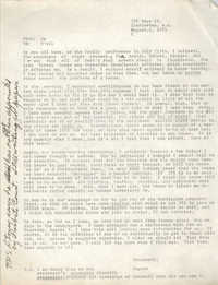 Memorandum from Eugene C. Hunt, August 1, 1975