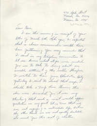 Letter from Richard Hunt to Eugene C. Hunt, March 10, 1975