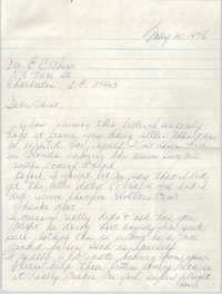 Letter to Eugene C. Hunt, May 30, 1976