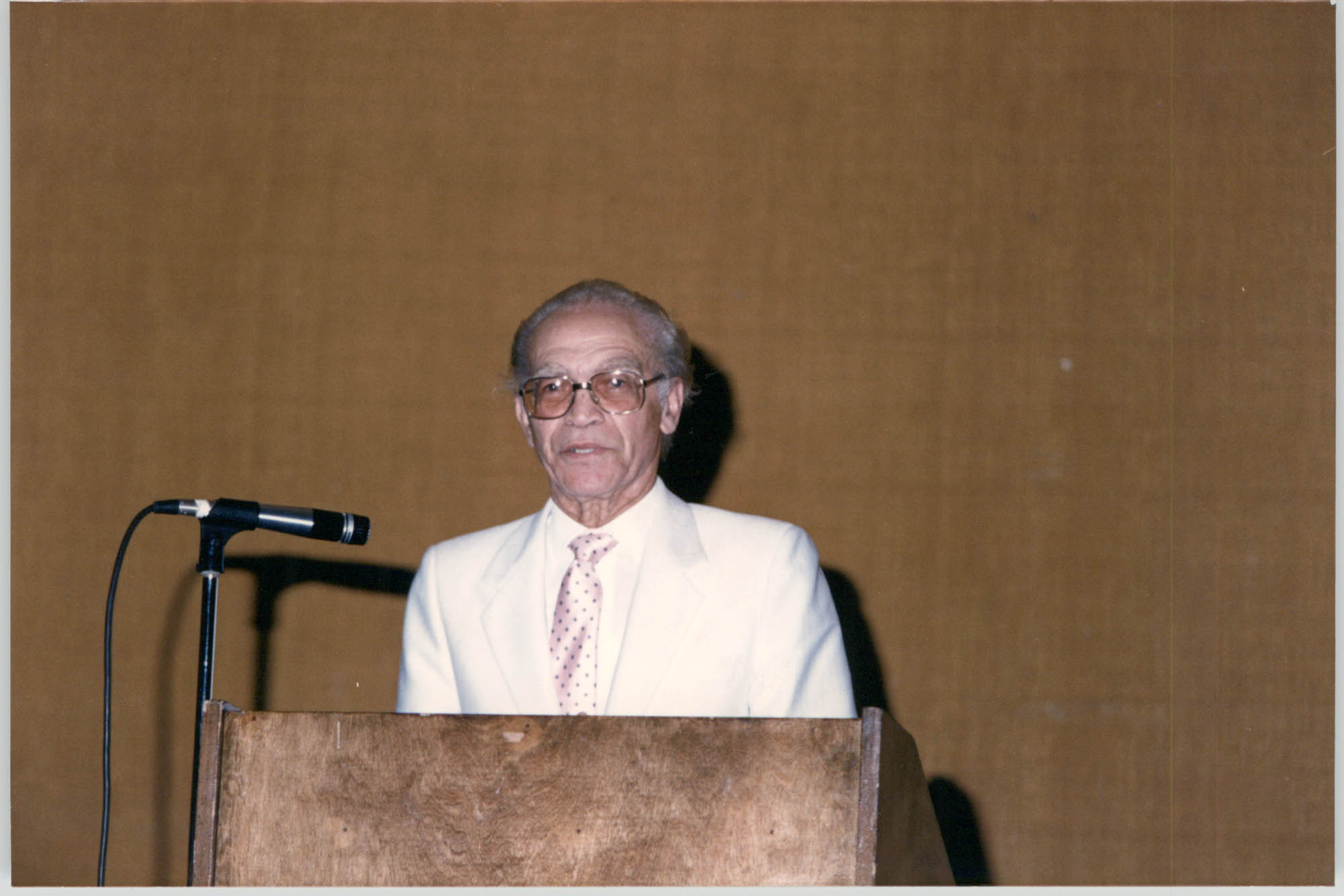 Photograph of Theodore Coker, Jr. at a College of Charleston Event