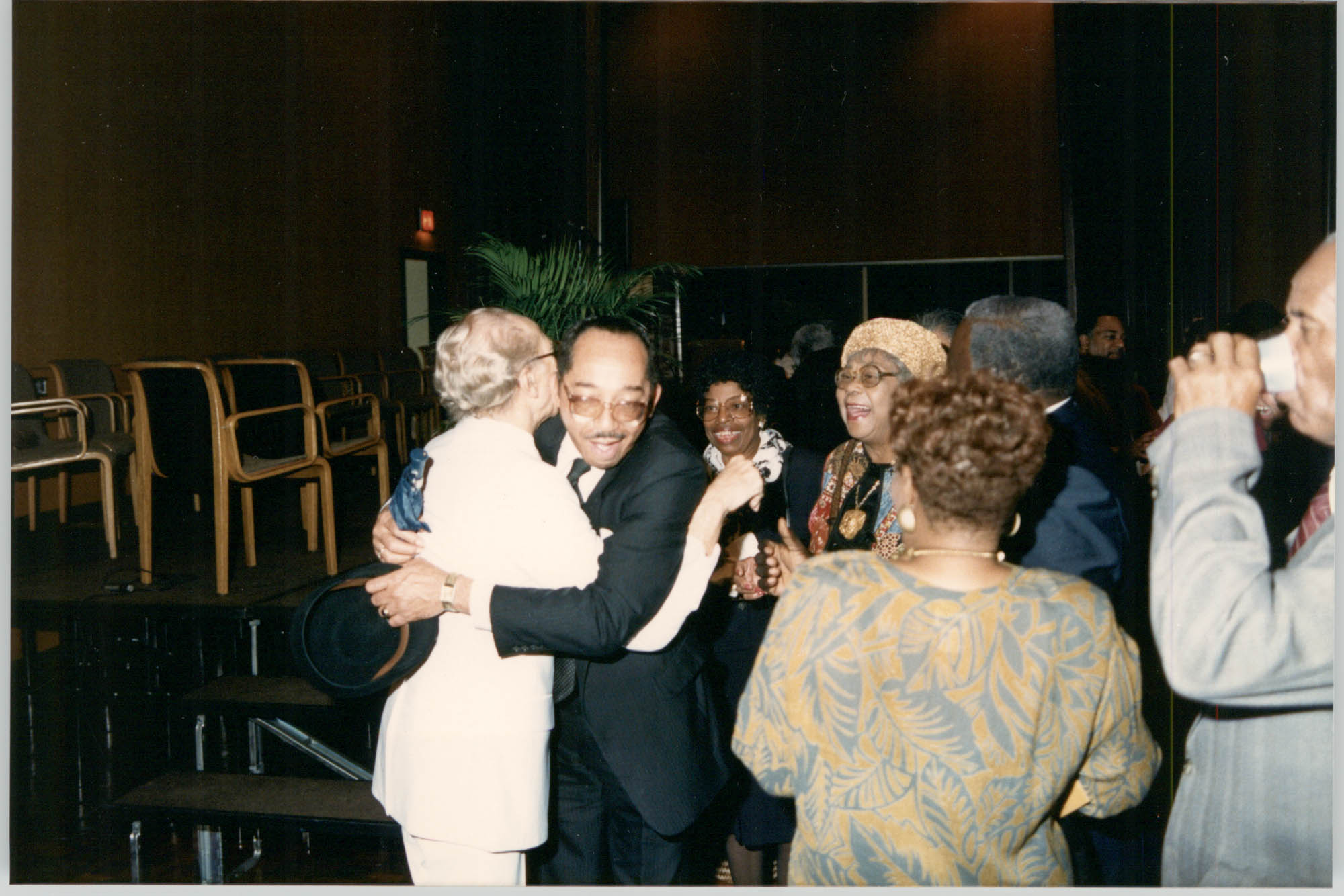 Photograph of Eugene C. Hunt and Others at a College of Charleston Event