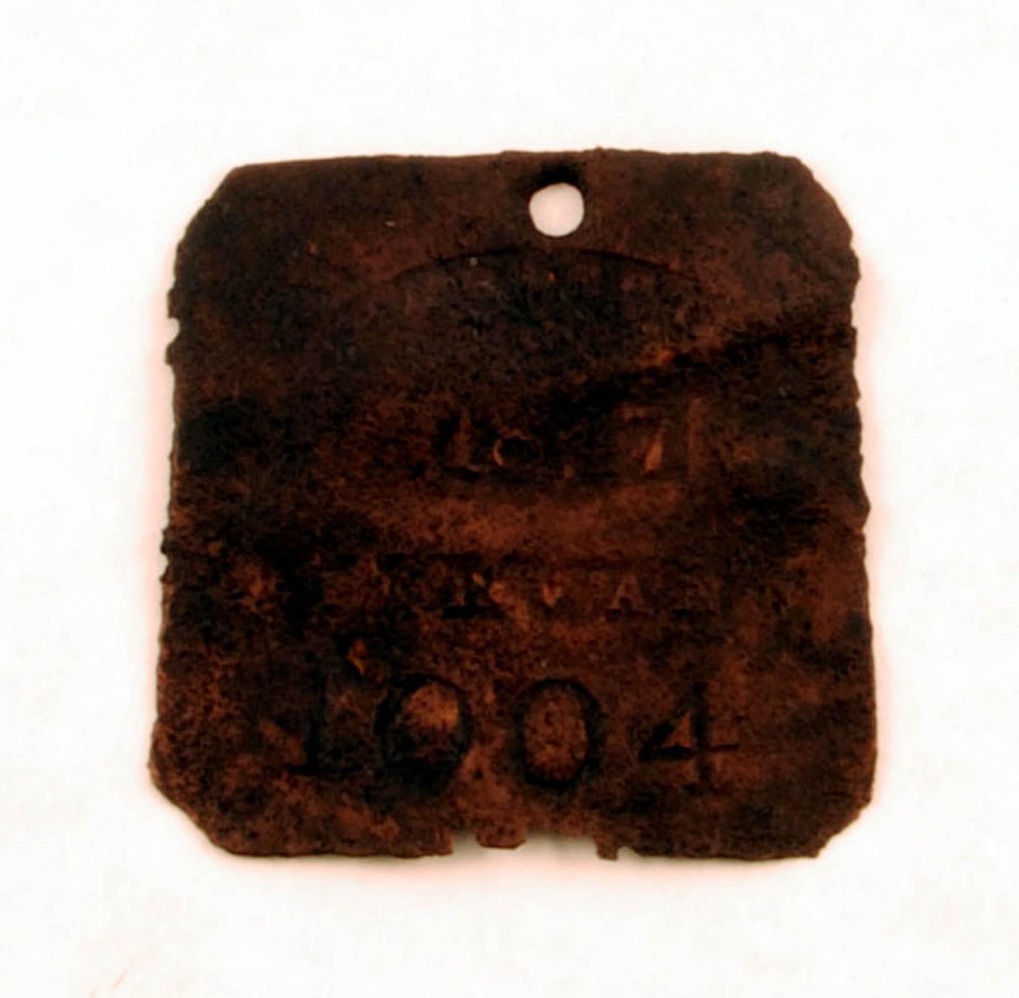 Slave badge