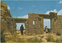 מירון - שרידי בית כנסת עתיק / Meron - ruins of ancient synagogue