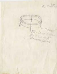 Round table frame design
