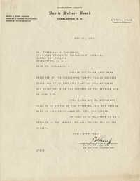 Folder 33: Wallace Letter