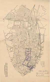 Folder 42: Parking Survey Map 1