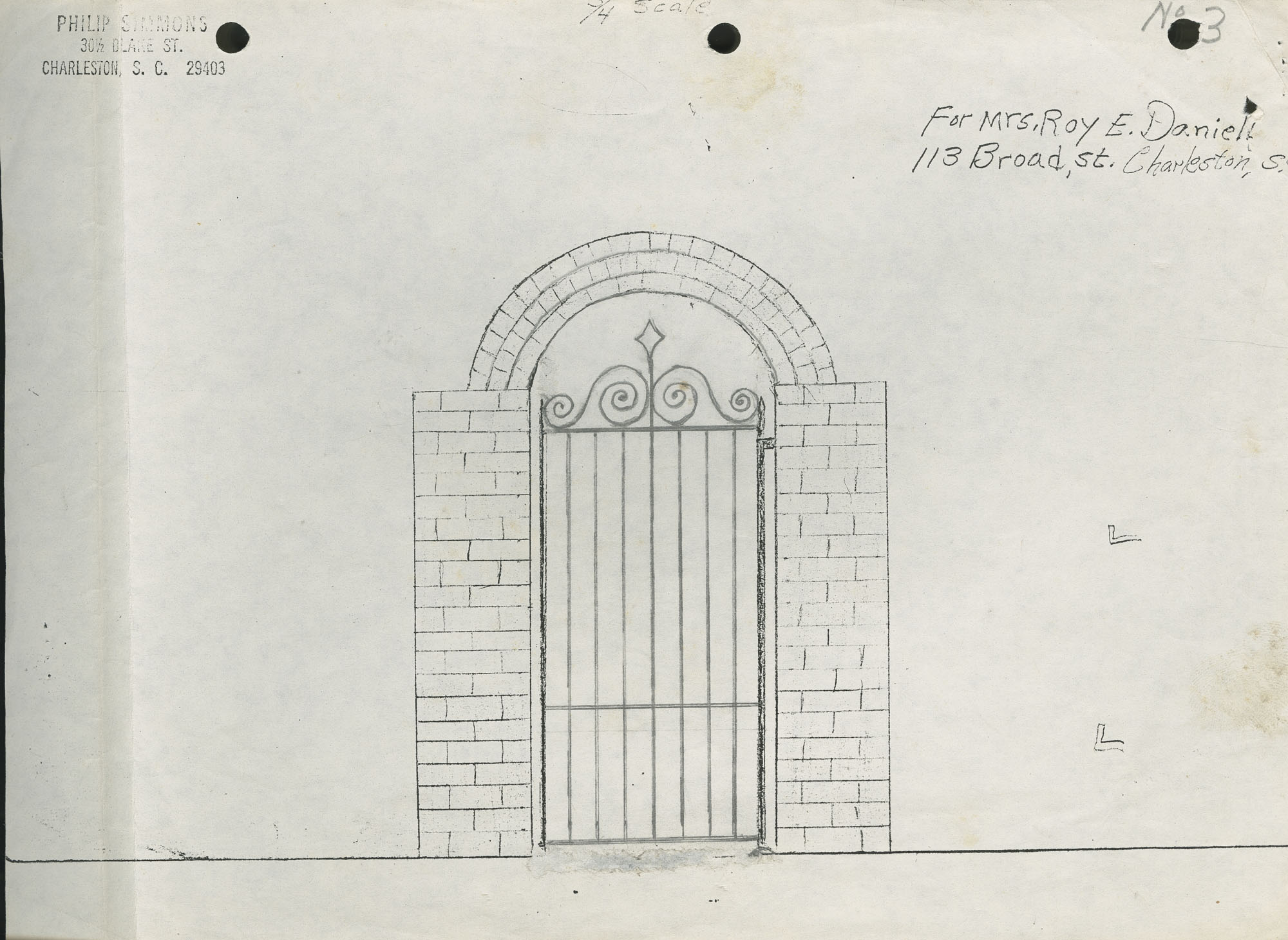 113 Broad Street Gate