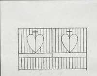 91 Anson Street gate structure