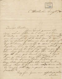 007. Julia Lynch Pinckney to Bp Patrick Lynch -- May 27, 1858