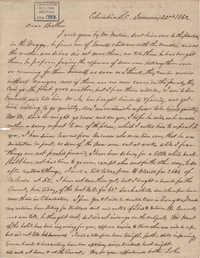 198. John Lynch to Bp Patrick Lynch -- January 22, 1862