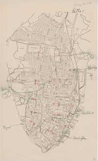 Folder 45: Traffic Survey Map 2