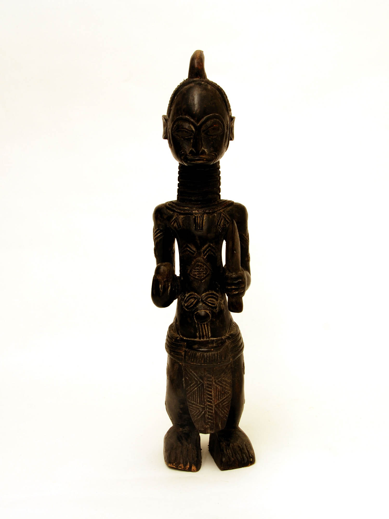 Male wooden statue