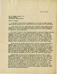 Folder 22: George Simons Letter 15