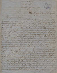 441. Mary Lynch Spann to Bp Patrick Lynch -- December 14, 1866