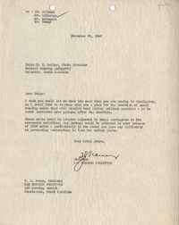Folders 52-61: Whitelaw Letter 1