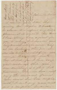 504.  Esther Hutson Barnwell to Stephen Elliott Barnwell -- October 22, 1870