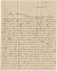 508.  William Finley Barnwell to Catherine Osborn Barnwell -- ca. 1859