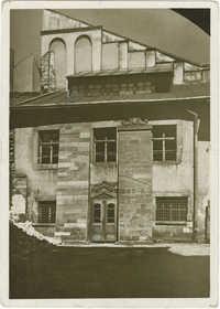 Lwów. Synagoga Złotej Róży.