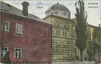 Lida. Synagoga.