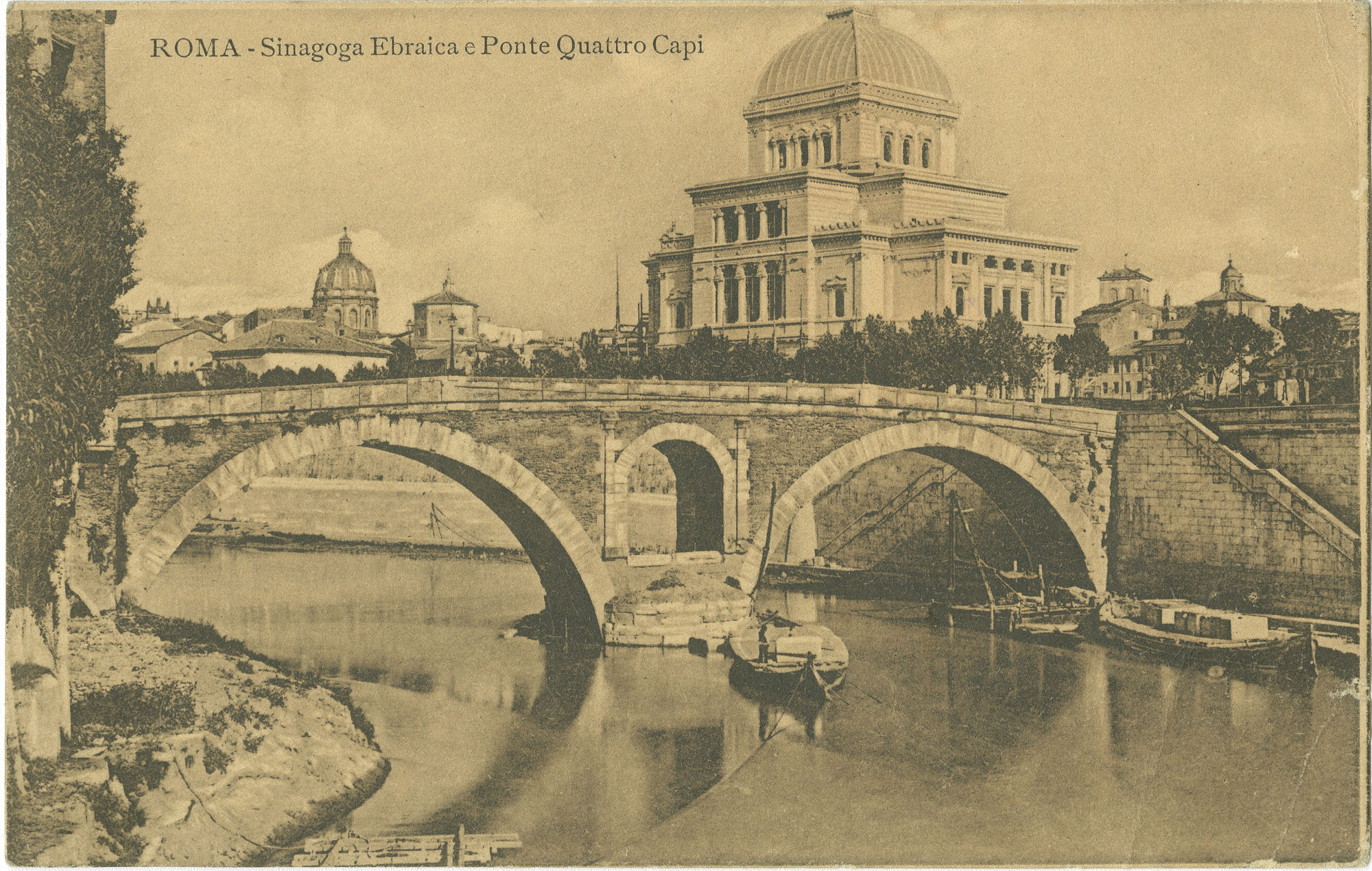 Roma - Sinagoga Ebraica e Ponte Quattro Capi