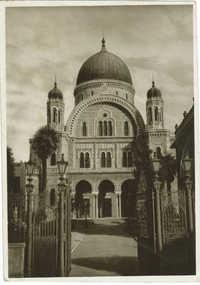 Firenze - Il tempio Israelitico