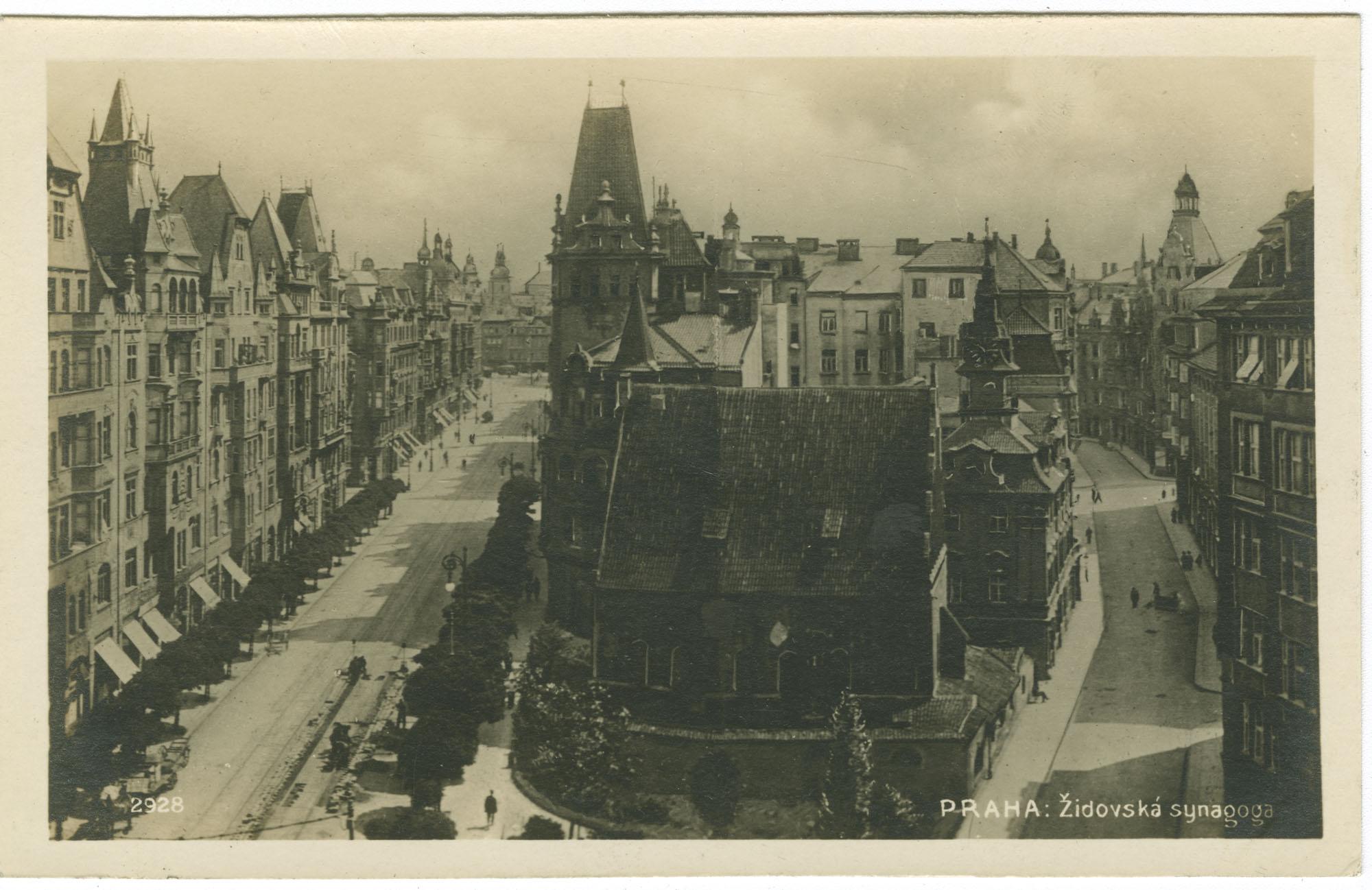 Praha: Židovská synagoga