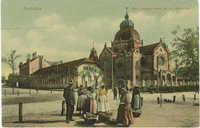 Szabadka. Ostr. magyar bank és izr. zsinagoga.