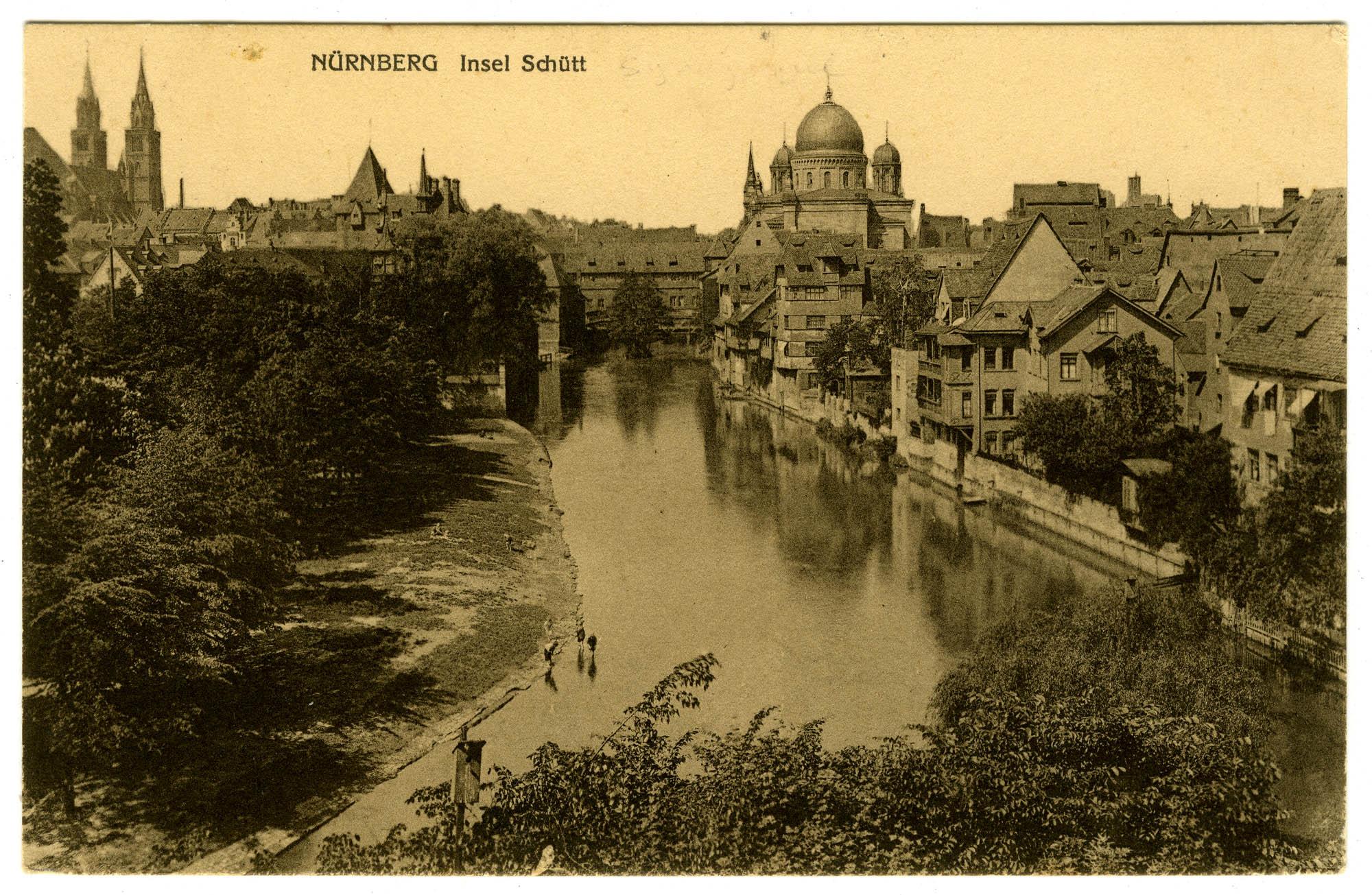 Nürnberg, Insel Schütt