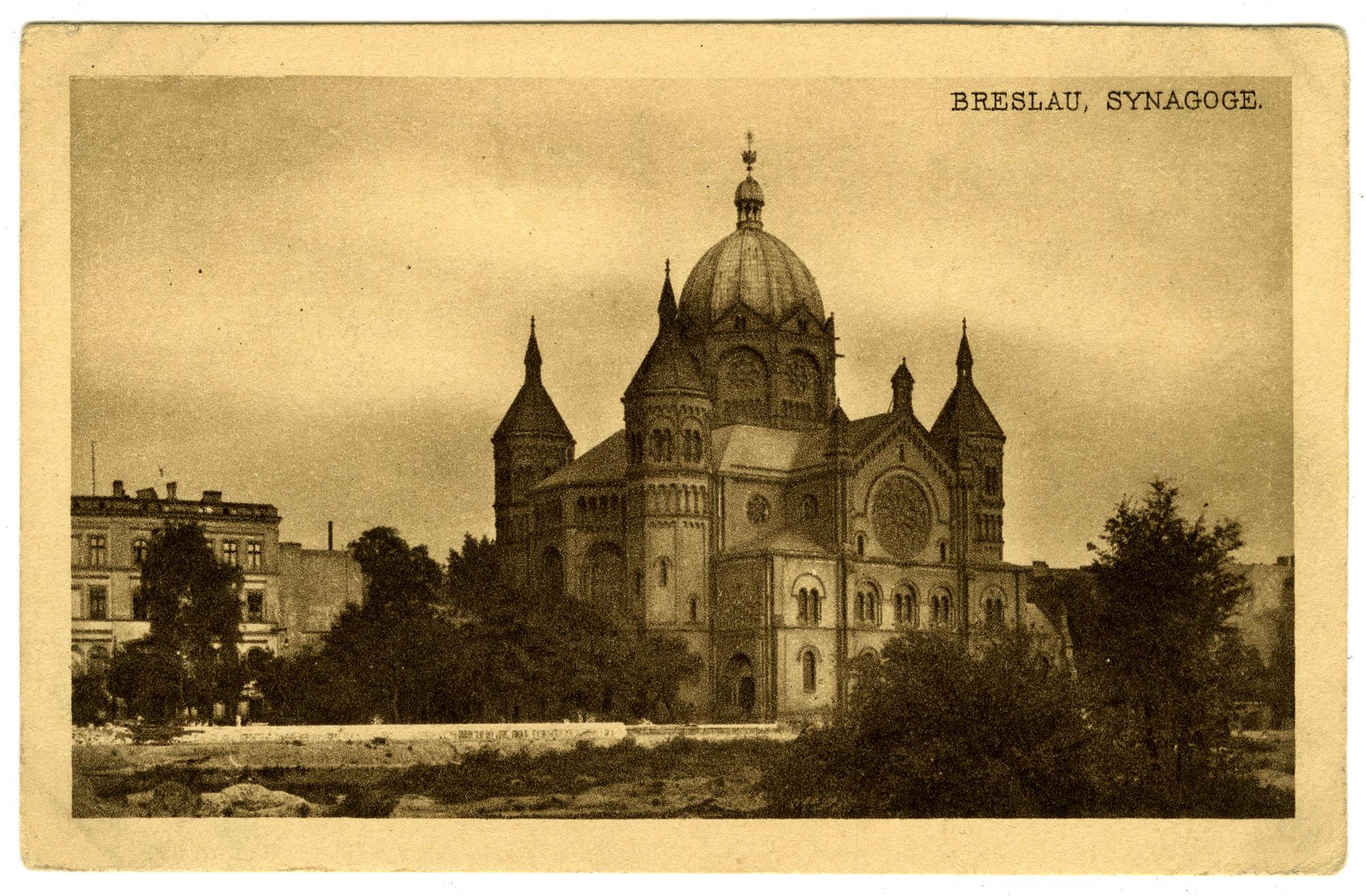 Breslau, Synagoge.