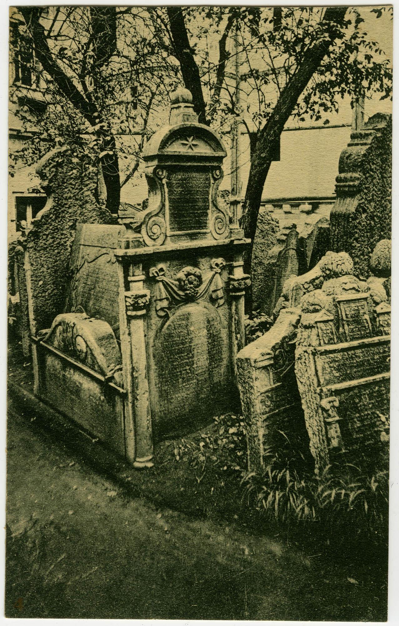 [Old Jewish Cemetery, Prague]