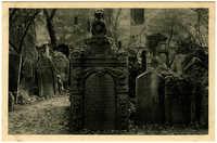 Praha - Židovský hřbitov. / Jewish Cemetery. / Jüdischer Friedhof. / Cimetière juif.