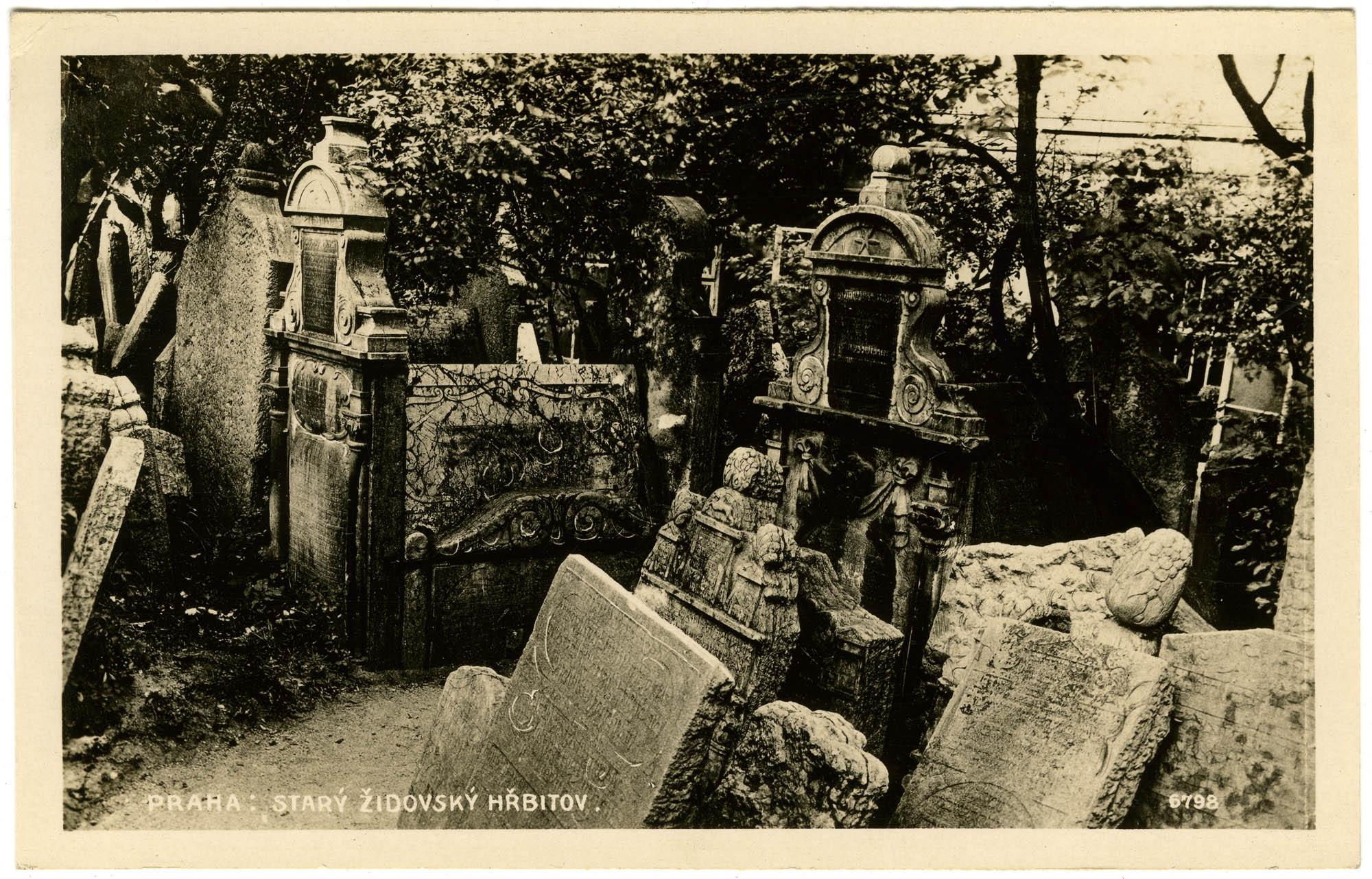 Praha : Starý židovský hřbitov