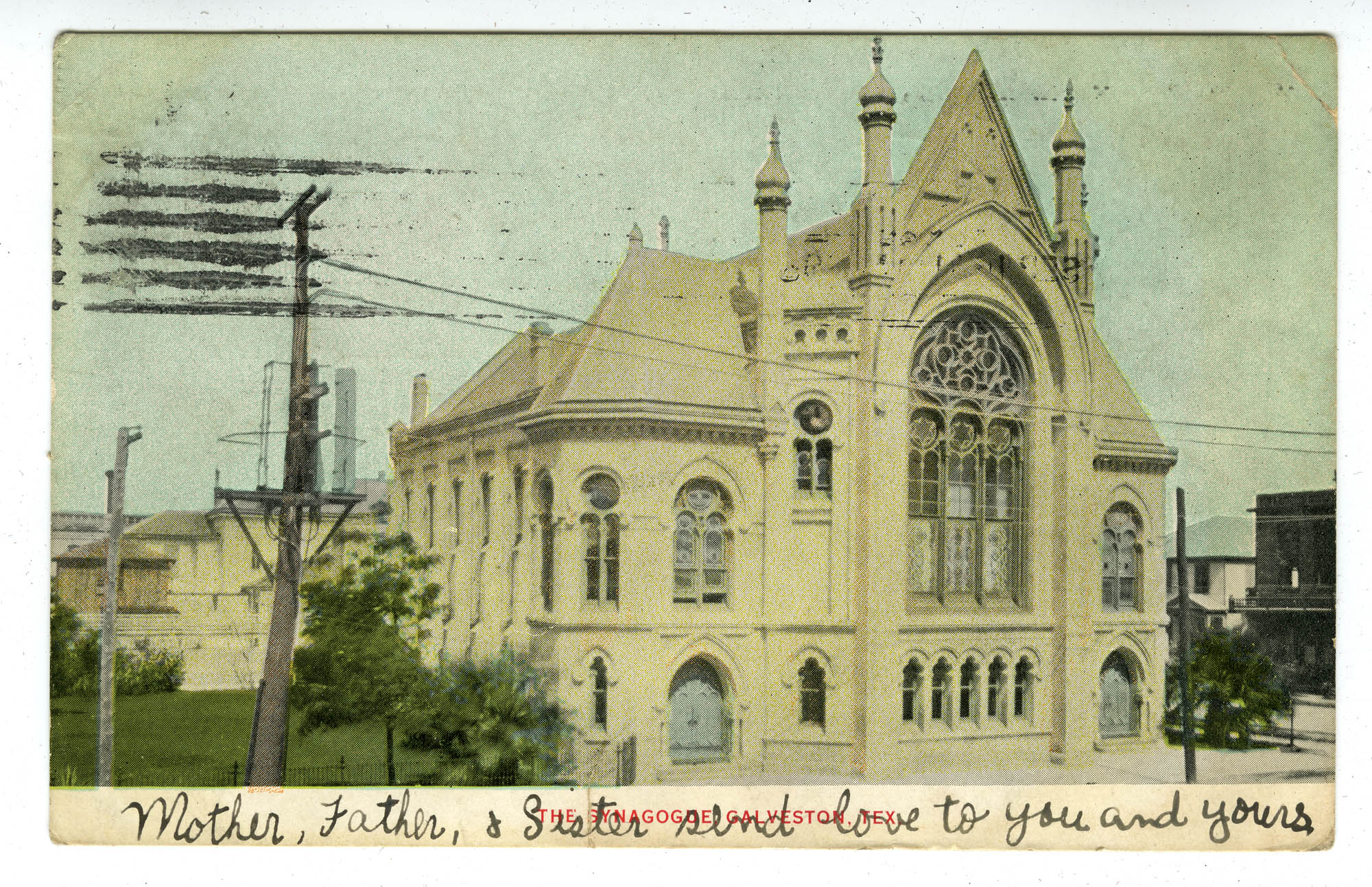 The synagogue, Galveston, Tex.