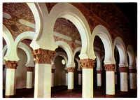 Santa María la Blanca. Interior (Siglo XIII) / Sainte María la Blanca. Interieur (S. XIII) / The María la Blanca Saint. Inner (XIII c.)