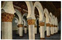 Toledo, Interior de Santa Maria la Blanca