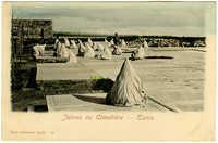 Juives au Cimetière - Tunis