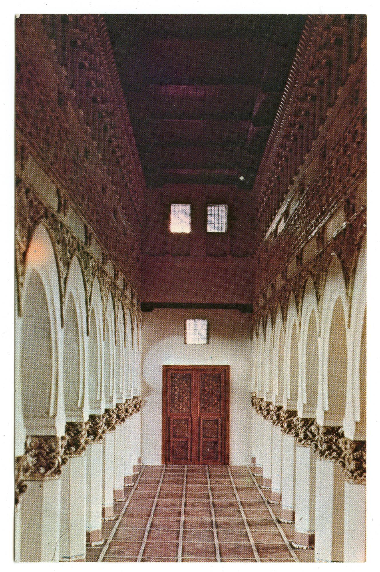 Toledo. Synagogue, La Blanca, ca. 1200